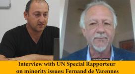 interview with Fernan the Varennes on European forum on narional minorities